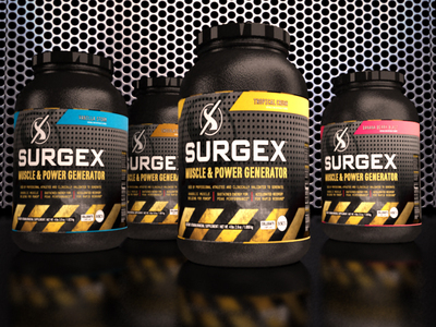 SURGEX - Muscle & Power Generator Shake