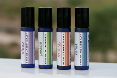 Bath By Bettijo's Organic Aromatherapy Roll-On Sticks