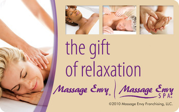 Massage Envy gift cards are easy to give and great to receive