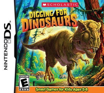 Cover Shot of Digging for Dinosaurs for Nintendo DS