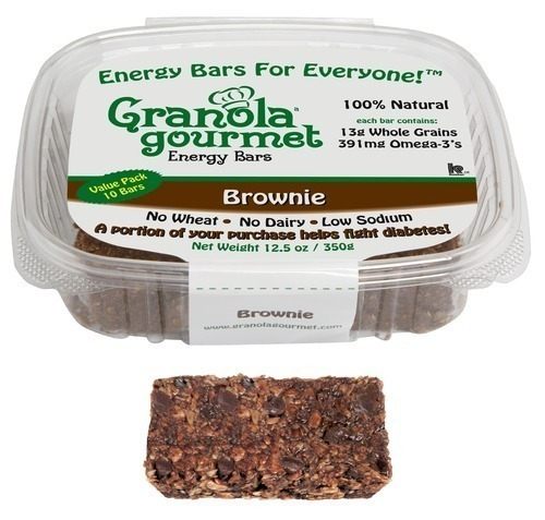 Chocolatey Granola Gourmet Brownie Energy Bar