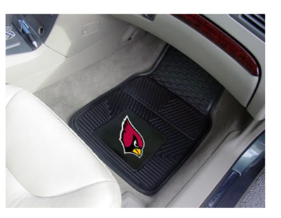 NFL 2-PC Heavy Duty Vinyl Car Mat Set