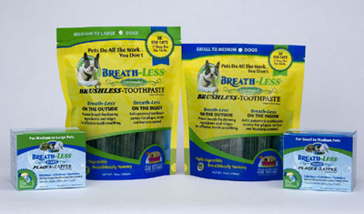 Brushless Tooth Care for your Pets