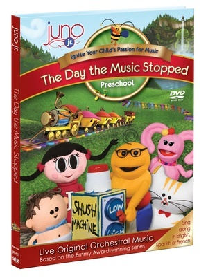Juno Jr. - The Day The Music Stopped DVD from The Juno Company