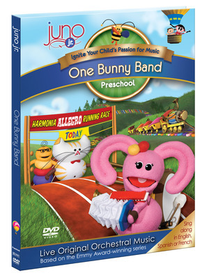 Juno Jr. - One Bunny Band DVD from The Juno Company