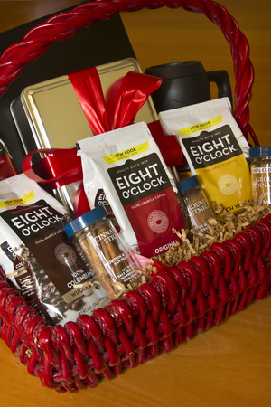 Eight O'clock Coffee Holiday Gift Basket