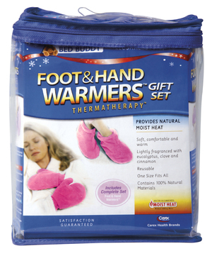 Bed Buddy Foot & Hand Warmers Gift Set Lipstick