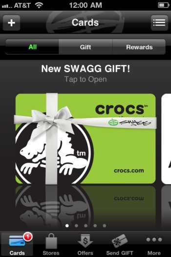 Demise of the Gift Card & The Rise of SWAGG