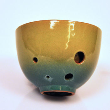 The Teacarina by STL Ocarina is a true original: a combination teacup and ocarina that lets you play simple tunes between sips of your favorite hot drink.