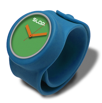 SLAP Watch Electric Band with Green Watch Face