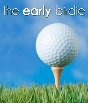 the early birdie harnesses the power of collective buying for golf courses and other related items allowing you to receive the best possible price on the internet.