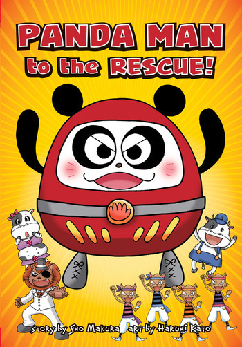 Panda Man to the Rescue!, from VIZ Media
