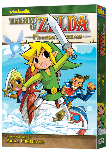 The Legend of Zelda: Phantom Hourglass, from VIZ Media