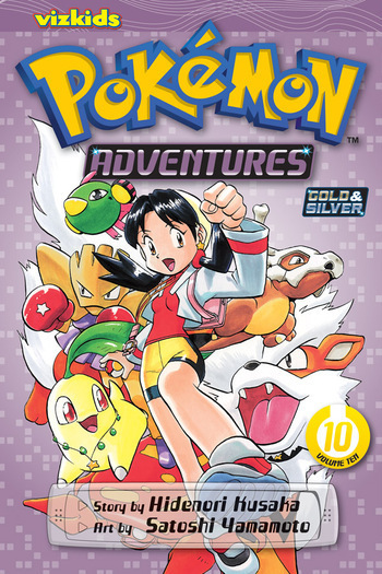 Pokémon Adventures Vol. 10, from VIZ Media