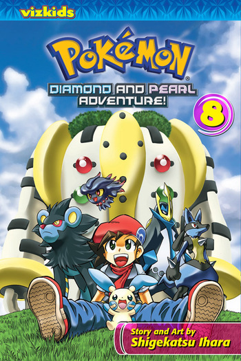 Pokémon Diamond and Pearl Adventure! Vol. 8, from VIZ Media