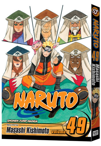 Naruto Vol. 49, from VIZ Media