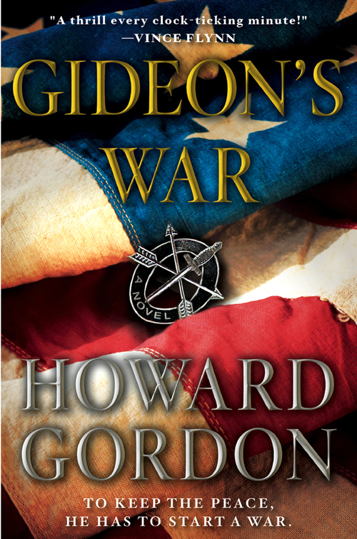 GIDEON'S WAR, Touchstone Hardcover / January 2011