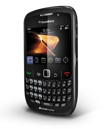 The BlackBerry Curve is available for $199.99 with Boost Mobile's $60 BlackBerry® Monthly Unlimited plan now with Shrinkage