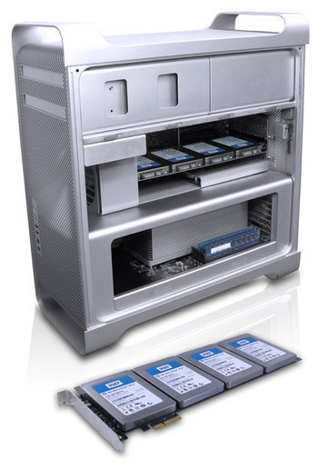 Mac Array - Internal SSD Raid Array for Mac Pro