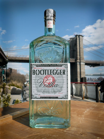 Bootlegger 21 New York Vodka
