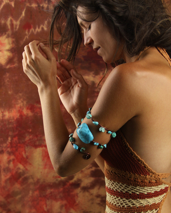 Truely Turquoise Arm Band