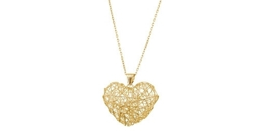 Nested Heart Necklace from PenelopePoet.com
