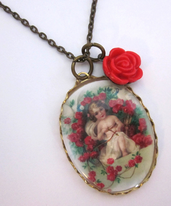 Annabellea Valentines Day Necklace