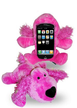 Funky Monkey - Cute Cuddly Cell Phone Cover