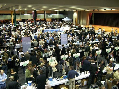 New York Wine Expo Show Floor