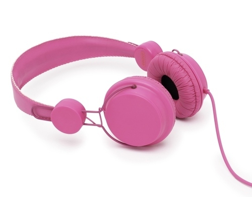 Coloud: Pink Headphones