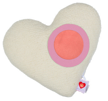 ThinkGeek: Beating Heart Stress Relief Pillow