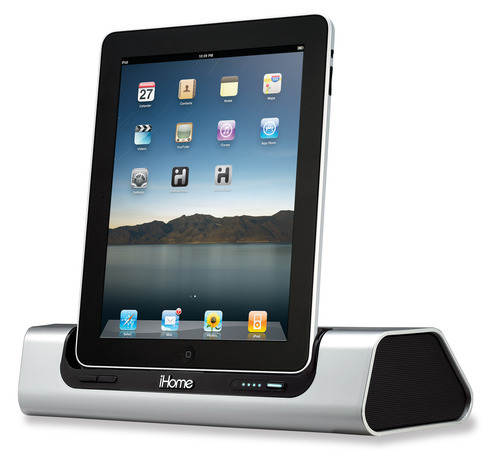 iD9 Portable App-friendly Rechargeable Speaker System for iPad/iPhone/iPod