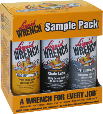 Liquid Wrench Sample Pack