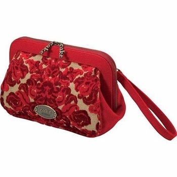 Cameo Clutch in Red Velvet Cake