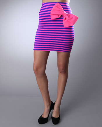 Sammy Big Bow Skirt in Pink