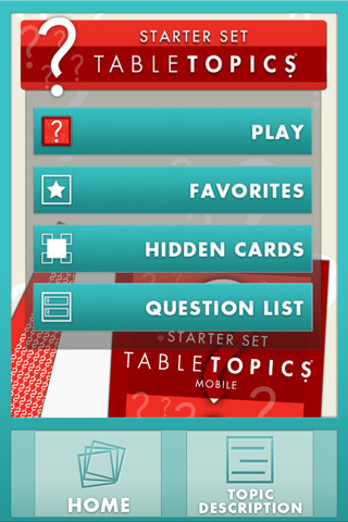 TableTopics Mobile: Starter Set