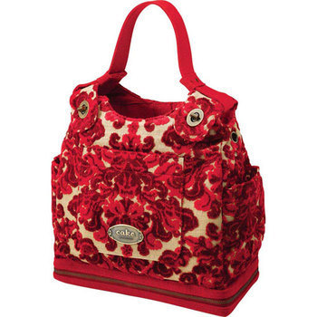 Society Satchel in Red Velvet Cake
