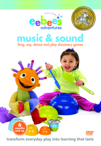 eebee's Adventures Music & Sound DVD