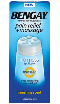 BENGAY pain relief + massage