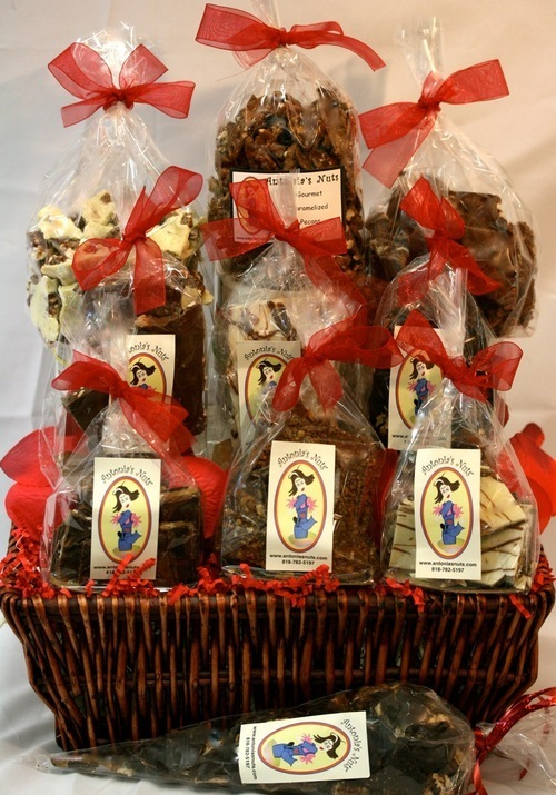 Antonia's Nuts LOVIN' YOU Valentine's Day Gift Basket