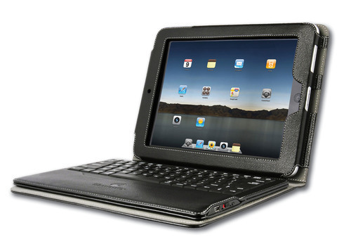 Qmadix iPad Portfolio with Removable Bluetooth Keyboard