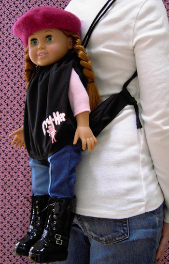 Carry-Her Doll Carrier Backpack