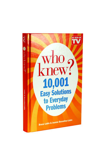 10001 easy solutions to everyday problems