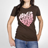 """Home Is Where The Dog Is"" T-Shirt for Dog Lovers from Freaky Dog People"