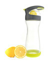 Wherever Water lemon water on-the-go glass bottle