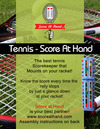 Score At Hand - Tennis Racket Scorekeeper