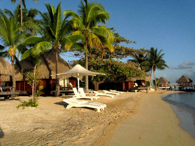 There Are Only 9 Beach Bungalows At The Moorea Pearl