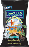 Hawaiian® Kettle Style Potato Chips Giveaway – Get Introduced to Cracked Black Pepper & Sea Salt