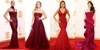 A Bordeaux Star Studded Runway at the The 65th Emmy Awards 2013 Red Carpet