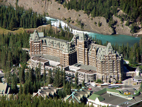 The Luxurious Fairmont Banff Springs In Heart Of Alberta Canada